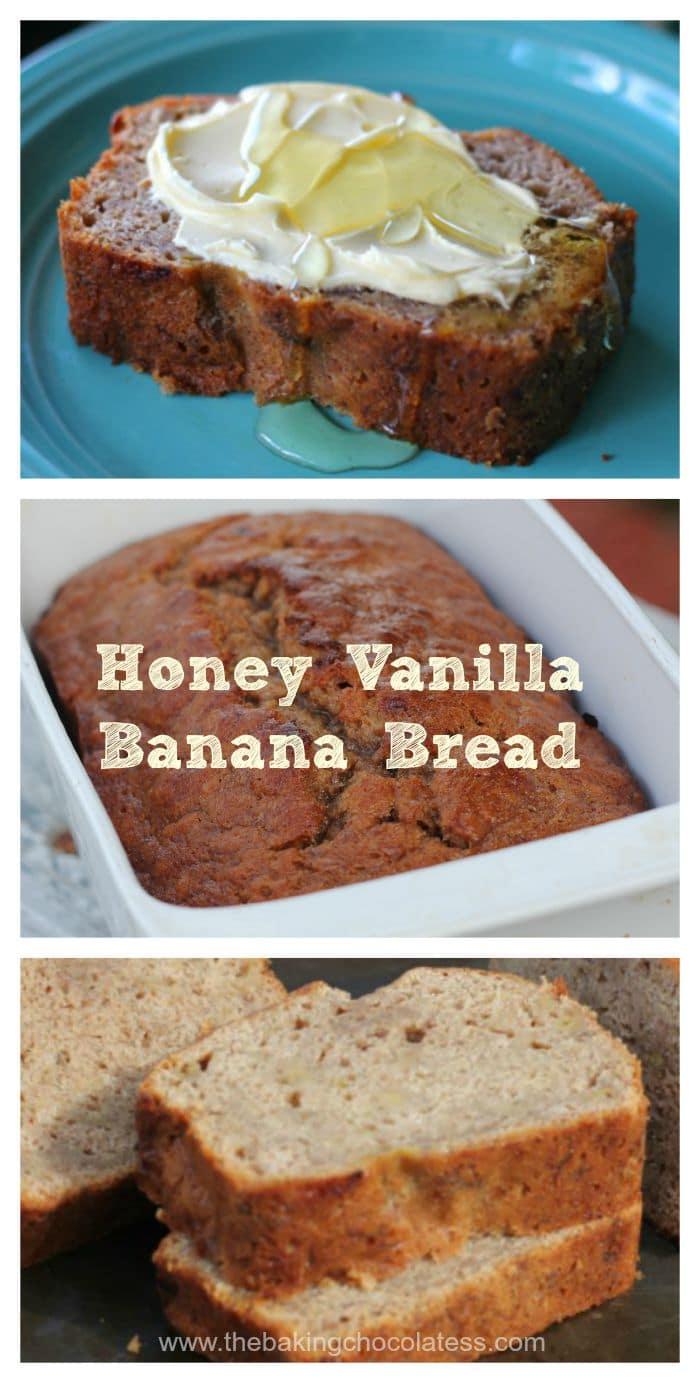 Honey Vanilla Banana Bread