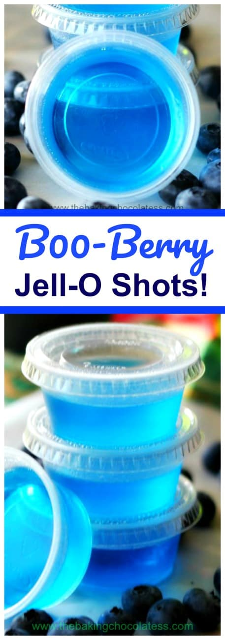 B00-Berry Jell-O Shots!
