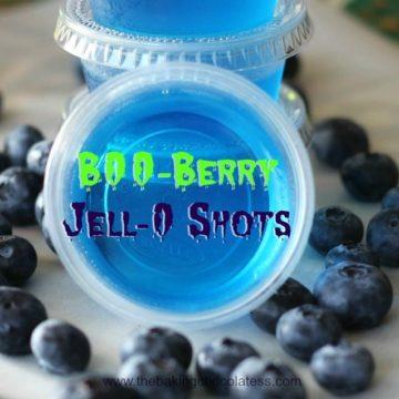 B00-Berry Jell-O Shots!