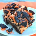 Orange Butter'Scream' OREO Brownies