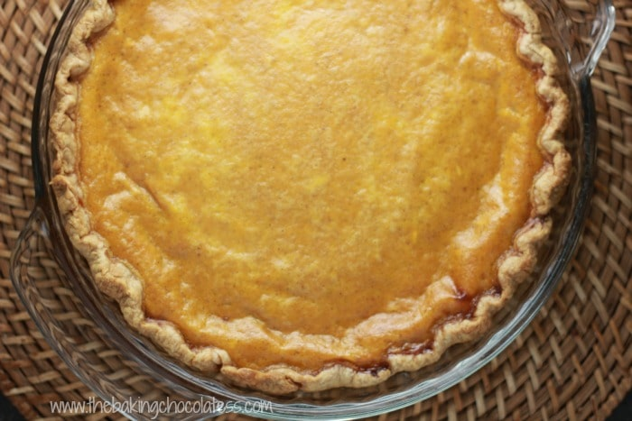 Amish Country Pumpkin Custard Pie