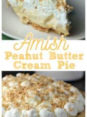 Amish Peanut Butter Pie