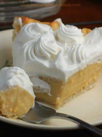 Marvelous Butterscotch Pie