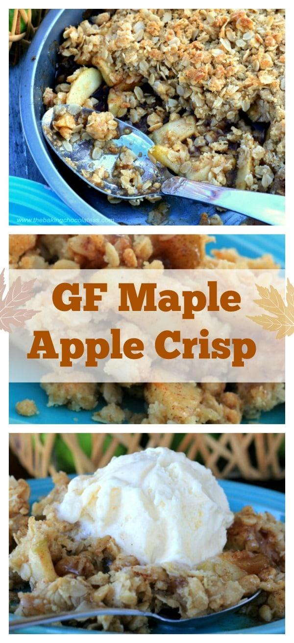 Beyond Yummy GF Maple Cinnamon Apple Crisp