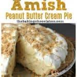 Amish Peanut Butter Cream Pie side views