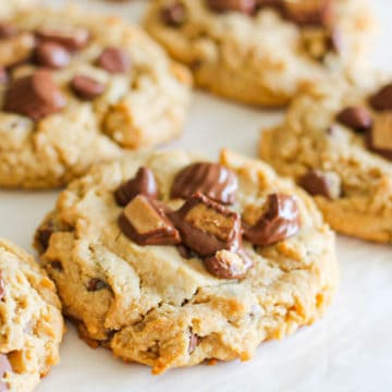 Ultimate Snickers Peanut Butter Cookies