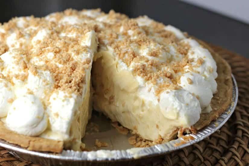 Peanut Butter Cream Pie inside view