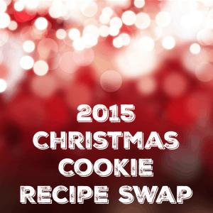 2015 Christmas Cookie Recipe Swap SQUARE