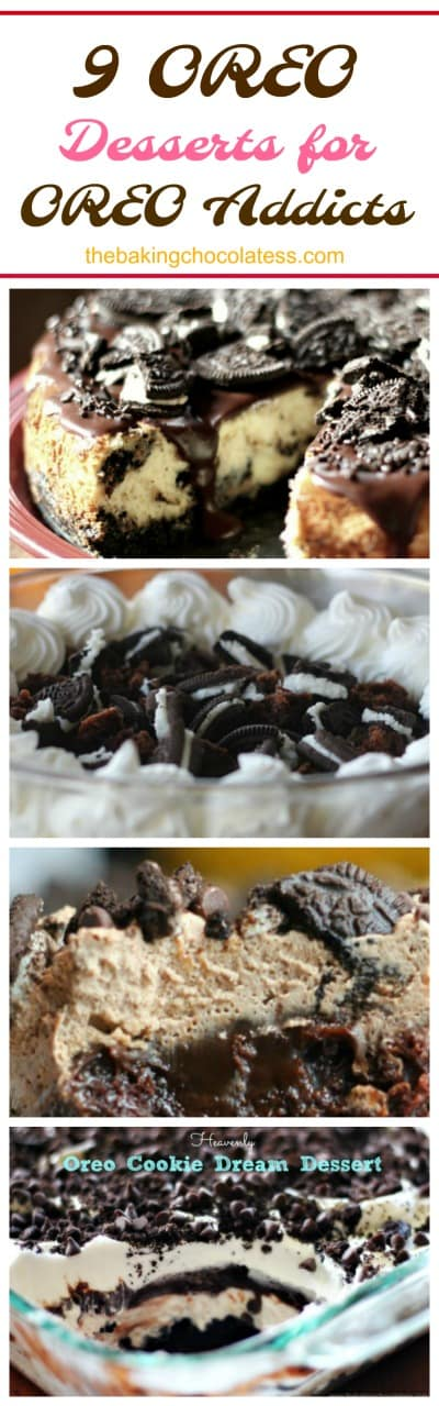 9 OREO Desserts for OREO Addicts
