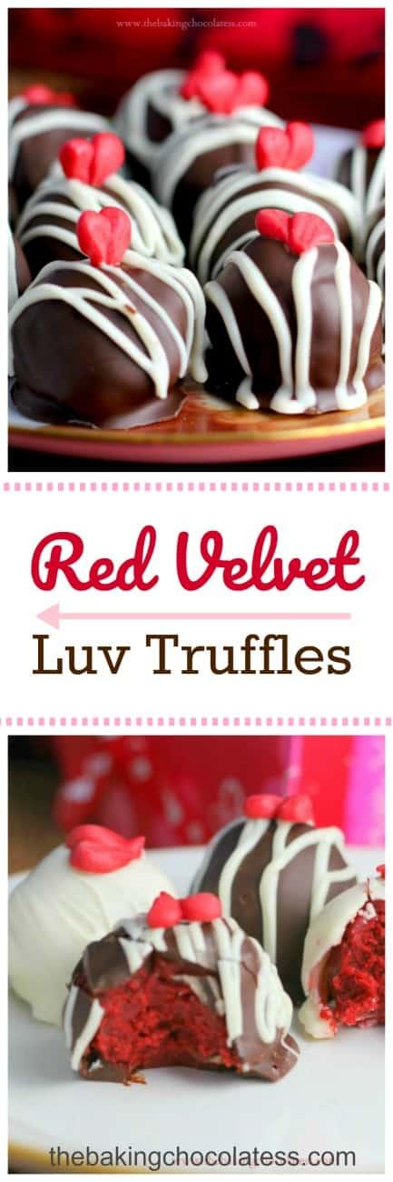 Red Velvet Luv Truffles