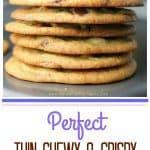 Perfect Thin & Crispy Chocolate Chip Cookies