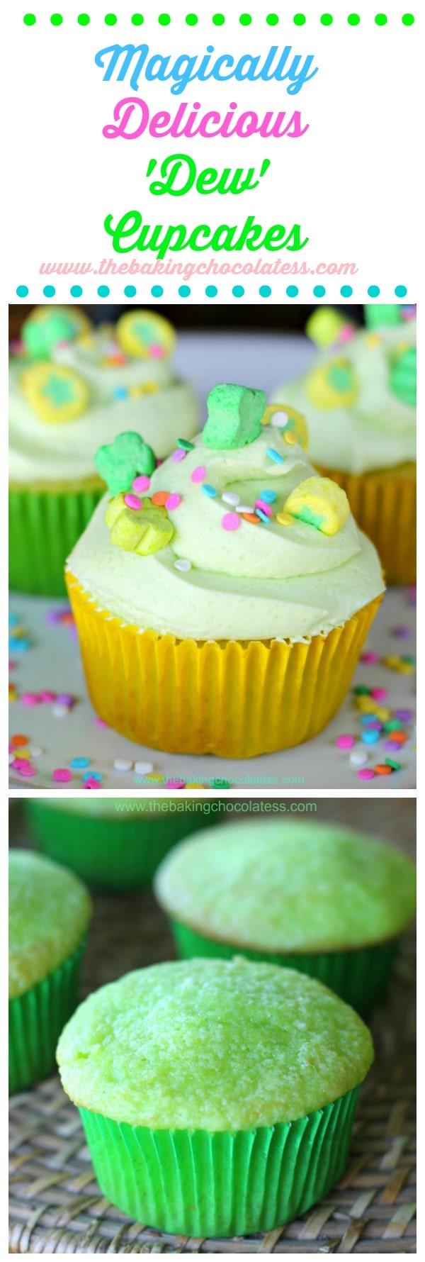 Magically Delicious \'Dew\' Cupcakes Recipe