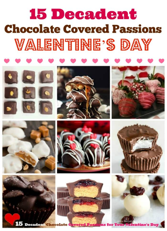 15 Decadent Chocolate Covered Passions for Your Valentine\'s Day