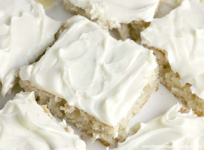 Heavenly Banana Bars