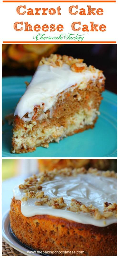 Cheesecake Factory Carrot Cake Cheesecak