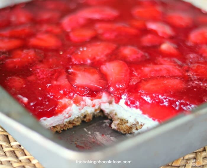 Heavenly Strawberry Pretzel Dessert