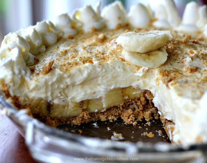 Banana Cream Pie Chocolate Lining