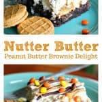 Nutter Butter Peanut Butter Brownie Delight