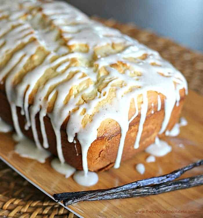 Old-Fashioned Vanilla Bean Cream Cheese Pound Cake
