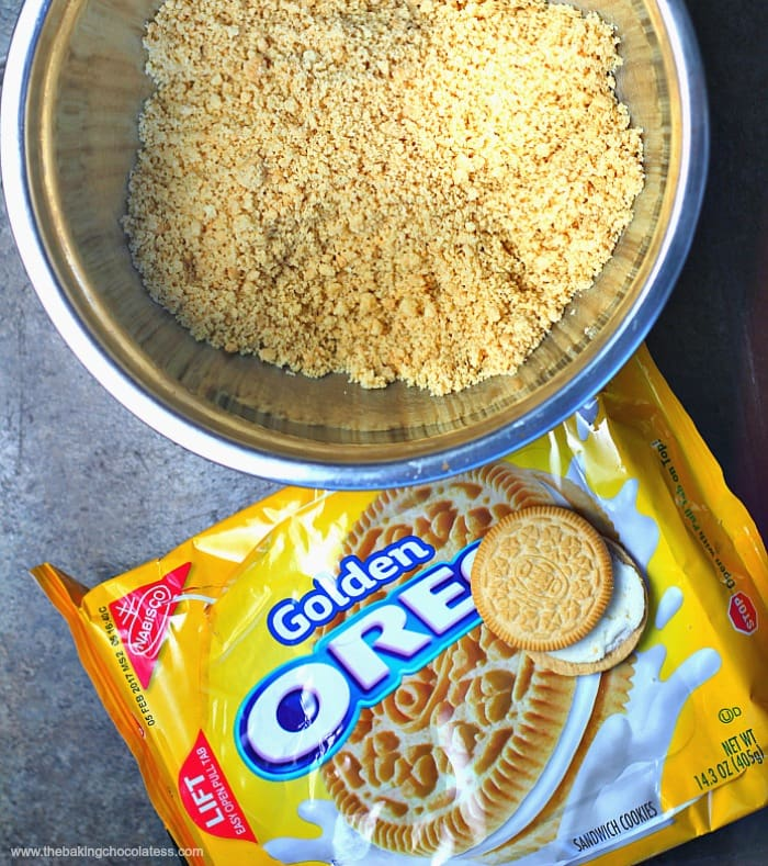 Mini Cupcake Golden Oreo Cookie Balls