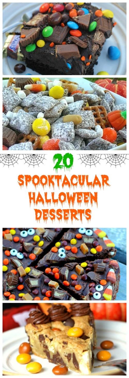 20 Spooktacular Halloween Desserts Round-Up!