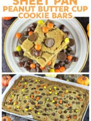 Sheet Pan Perfect Peanut Butter Cup Cookie Bars