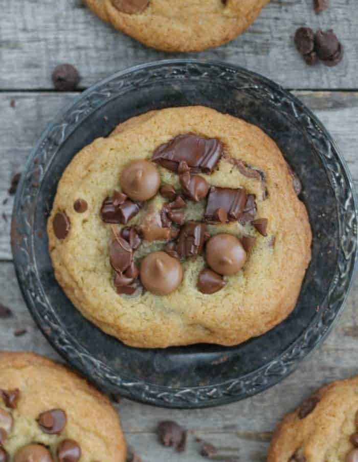 Thick and Chewy Chocolate Chip Emergency Cookies