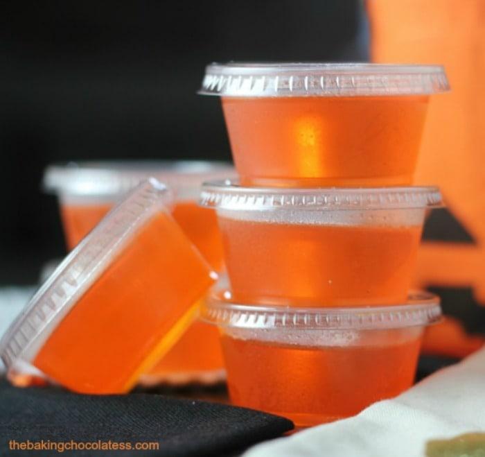 Pinnacle Orange Creamsicle Jell-O Shots