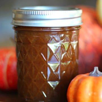 Home-Made Pumpkin Spice Syrup & Pumpkin Spice Latte