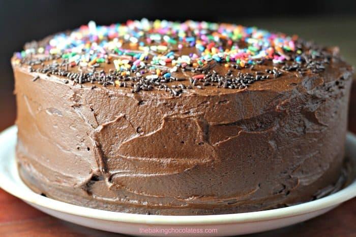 Moist Butter Layer Cake Recipe