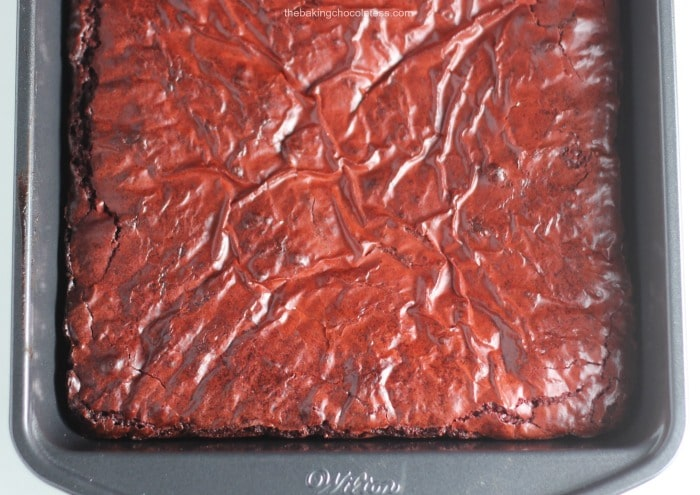 'Kiss Me' Red Velvet Brownies
