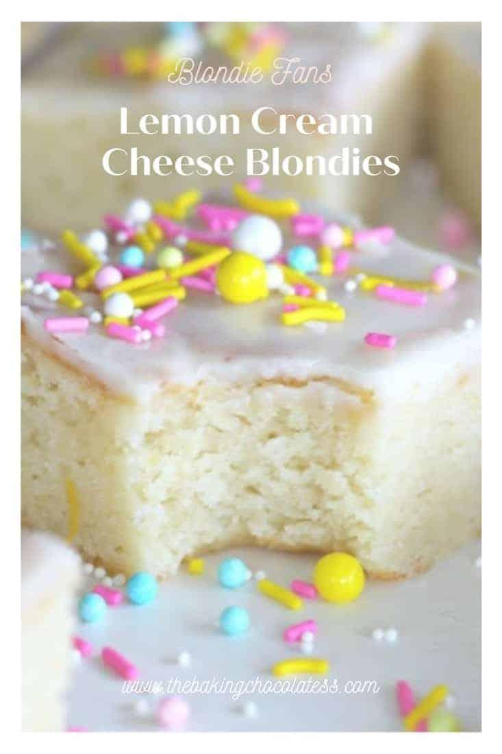 Kick-Ass Lemon Cream Cheese Blondies