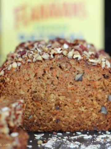 Mimi's Carrot Cake Oat Pecan Loaf