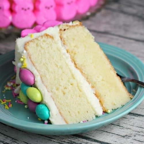 Easy To Decorate Easter Bunny Cake
