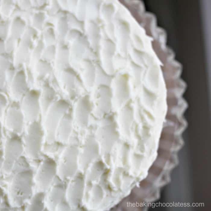 SuperMoist Vanilla Cake with Vanilla Buttercream