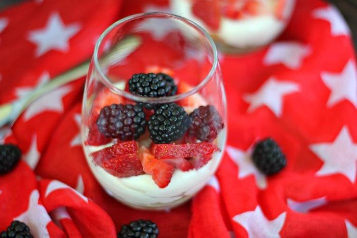 Patriotic Explosion Cheesecake Party Desserts