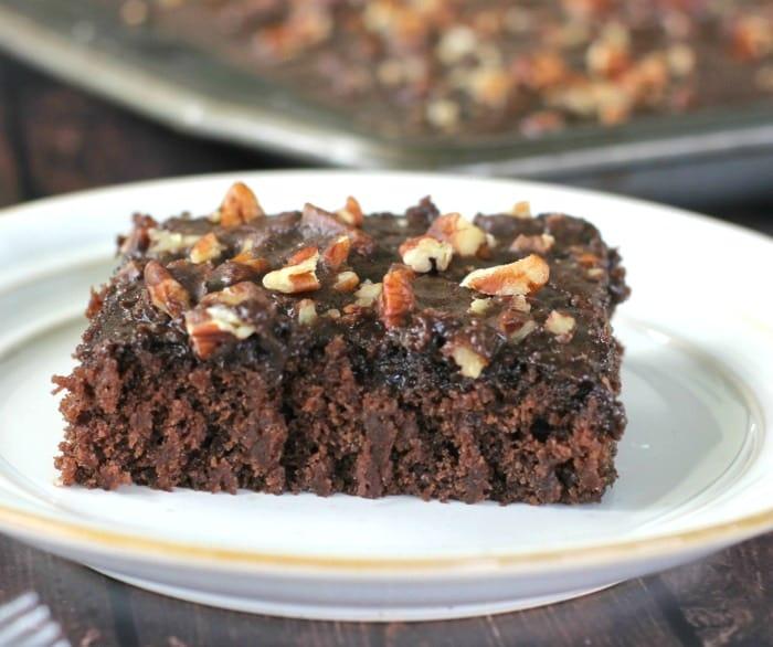 Southern Dark Chocolate Texas Sheet Cake