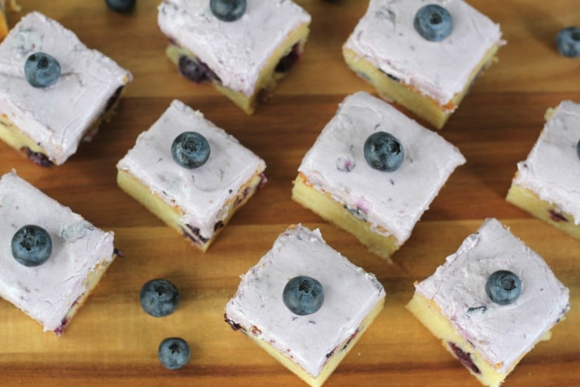 White Chocolate Blueberry Blondies – The Baking ChocolaTess