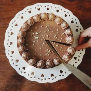 Easy No-Bake Nutella Cheesecake