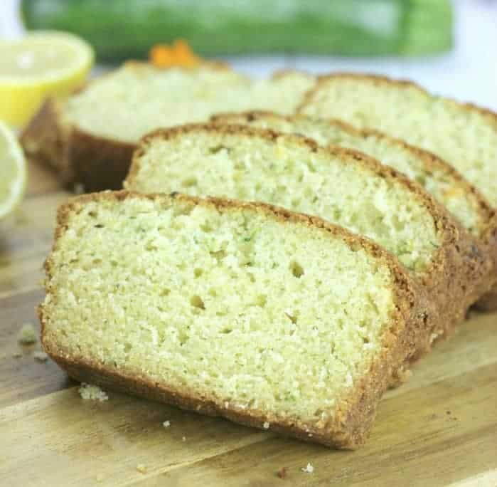 Lovely Lemon Zucchini Bread