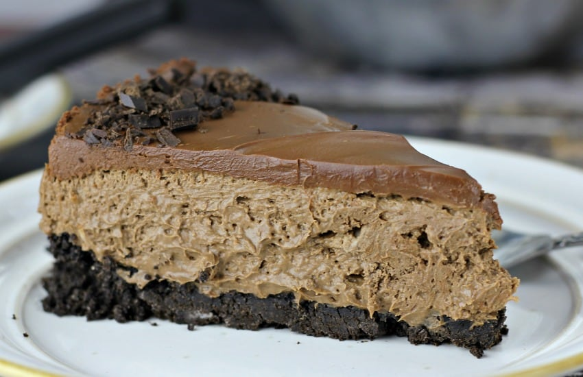"""Death By Chocolate"" Cheesecake"