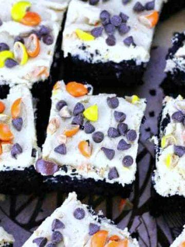 Vanishing Black Cocoa Brownies