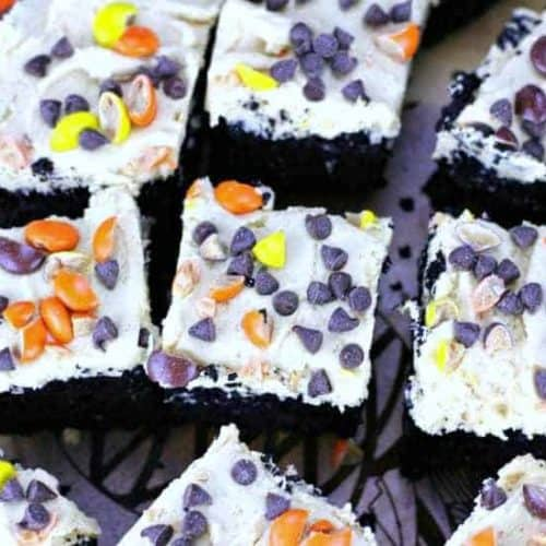 Vanishing Black Cocoa Brownies