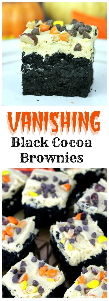 Vanishing Banana Peanut Butter Brownies