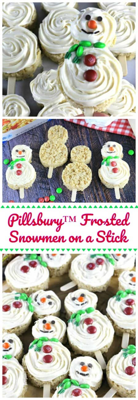 Pillsbury™ Frosted Snowmen on a Stick