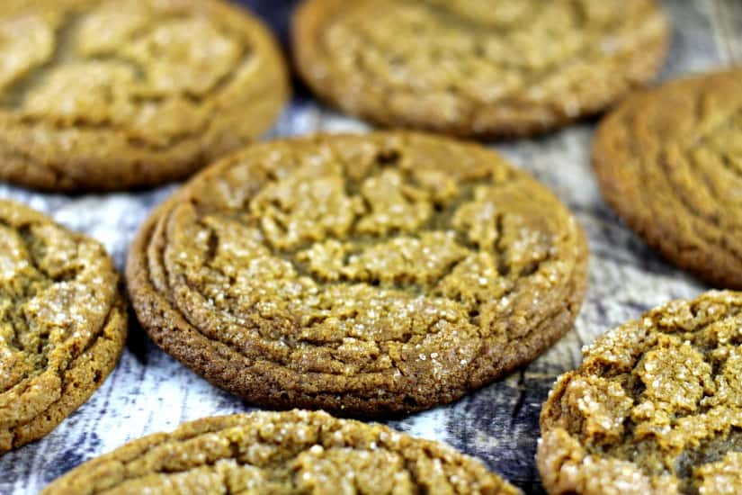 Soft and Chewy Ginger Spice Cookies