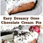 Easy Dreamy Oreo Chocolate Cream Pie