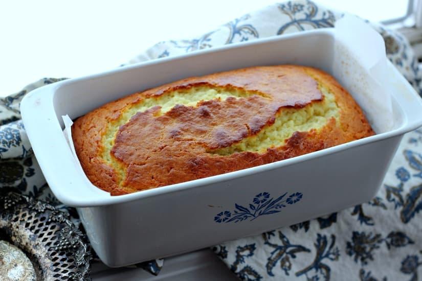 Vanilla Greek Yogurt & Olive Oil Pound Cake