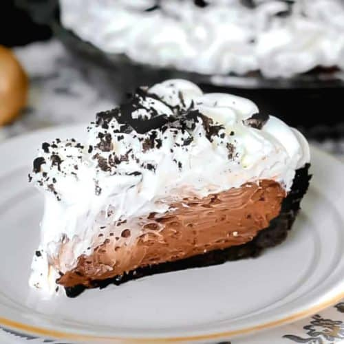 Easy Dreamy Oreo Chocolate Cream Pie