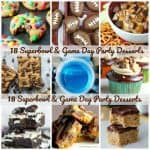 18 Superbowl & Game Day Party Desserts